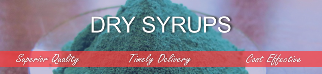 Dry Syrups in Park Pharma