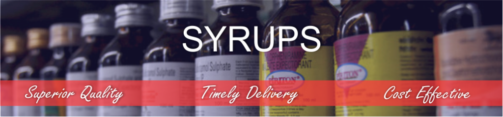 Syrups Manufacturing in Park Pharma